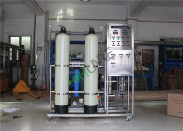 Small Ro Seawater Desalination Plant / Reverse Osmosis Drinking Water Treatment System