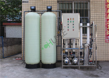 380V Ultrafiltration Membrane System FRP / SS304 Ro Plant For Commercial Use