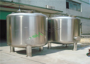 Industrial Stainless Steel Filter Housing Carbon / Sand Media Water Filter