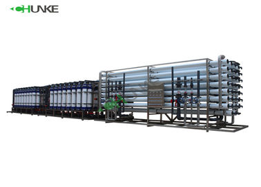 High Pressure RO Water Treatment Plant / 1000 Ltr Ro Plant For Industrial Use