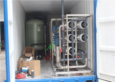 14T RO Water Plant With Container For Denmark Customer