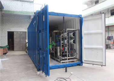Reverse Osmosis Water Purification Unit Containerized Ro System For Underground Water