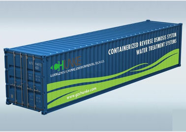 Containerized Mounted Salt Water Treatment System / Seawater Desalination Plant