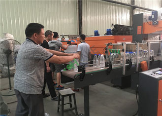 380V Drinking Water Production Line , Electric Mineral Water Bottling Plant