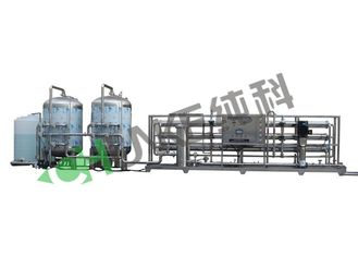 Water Treatment Systems Reverse Osmosis Systems 15T/H RO Membrane Stainless Steel Filter Housing