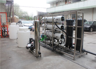 One Stage RO Water Treatment System Strong Acid Exchanging Resin Medium