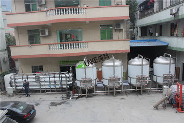 Thailand Water Treatment Case , 45T RO Water System For Boiler Water