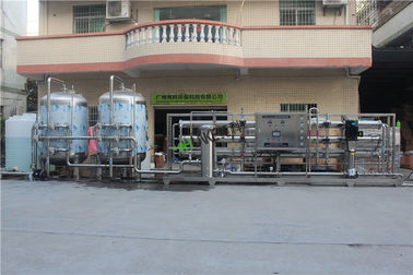 15T Per Hour Stainless Steel Reverse Osmosis Machine For Drinking Water